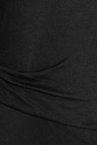 Helmut Lang Draped lightweight jersey maxi dress