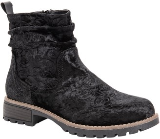 Muk Luks Women's Pull-On Ankle Booties - Clarice