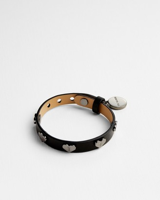 Ted Baker HHARPER Leather heart bracelet
