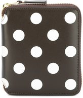 Comme des Garcons polka dot wallet - unisex - Calf Leather - One Size