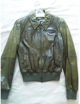 Iceberg Green Fur Jacket for Women