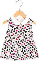 Kate Spade Girls' Sleeveless Heart Print Top