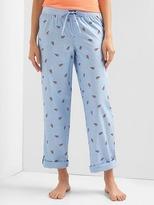 Gap Poplin print sleep pants
