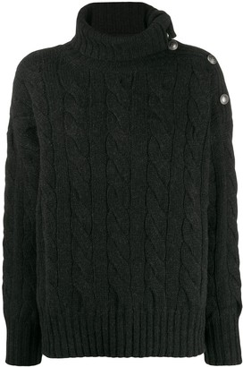 Polo Ralph Lauren cable-knit roll neck
