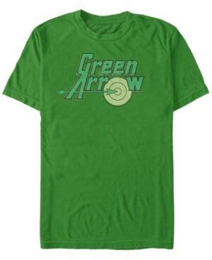Fifth Sun Dc Men's Green Arrow Target Logo Short Sleeve T-Shirt