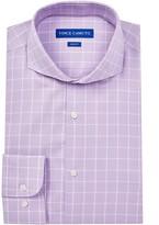 Vince Camuto Oxford Slim Fit Windowpane Dress Shirt