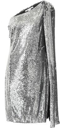 Stella McCartney One-shoulder sequined minidress
