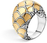 John Hardy Sterling Silver & 18K Gold Naga Dome Ring