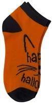 High Point Design Women's Halloween Cat Low-Cut Socks