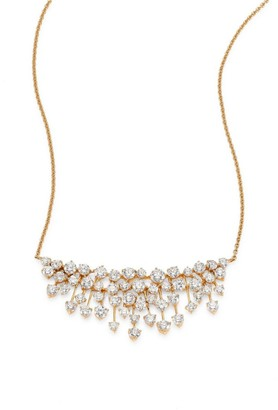 Hueb Luminus Large Diamond & 18K Yellow Gold Pendant Necklace
