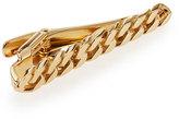 Lanvin Gold Curb Chain Tie Bar