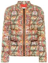 Etro Printed down puffer jacket
