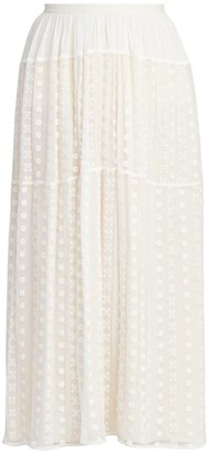 Chloé Bohemian Maxi Skirt