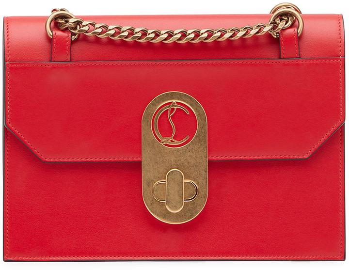 Elisa Small Calf Paris Shoulder Bag by Christian Louboutin