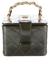 Chanel Patent Vanity Case