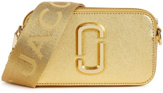 Marc Jacobs The Snapshot DTM gold cross-body bag