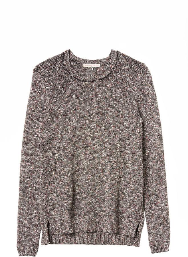 Rebecca Taylor Confetti Knit Pullover Sweater