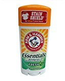 Arm & Hammer Essentials Natural Deodorant Fresh 2.50 oz (Pack of 6)