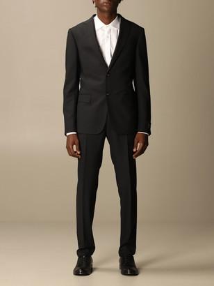 Ermenegildo Zegna Suit Single-breasted Suit In 260 Gr Pinstripe Twill Wool Drop 8