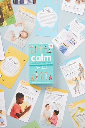 Anthropologie Kids Mindfulness Flash Cards By in Assorted