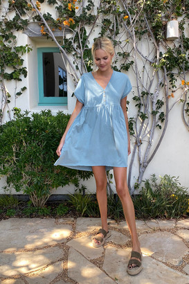 Urban Outfitters Ava Knit Babydoll Mini Dress