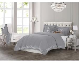 Juicy Couture Gothic Comforter Set, 3-Piece, Queen Bedding