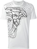 Versace logo print T-shirt - men - Cotton - L