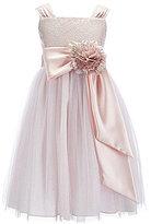 Chantilly Place Big Girls 7-16 Brocade Ballerina Dress