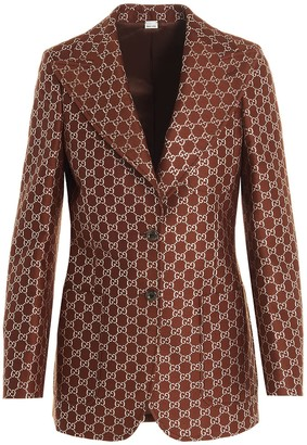 Gucci GG Single-Breasted Jacket