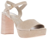 Car Shoe ankle strap sandal
