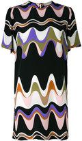 Emilio Pucci triangle print shift dress - women - Silk - 38