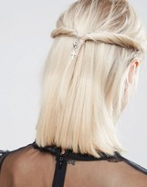 Asos Gothic Cross Hair Crown Clips