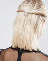 Asos Gothic Cross Hair Crown Clips
