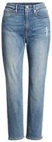Good American Women's Good Cuts High Rise Boyfriend Jeans