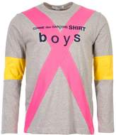 Comme des Garçons SHIRT BOYS T-Shirt - Grey