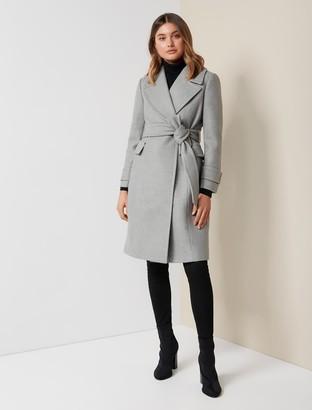 Ever New Stella Petite Long Wrap Coat