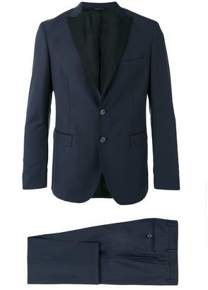 Tonello Contrast-Lapel Two-Piece Suit