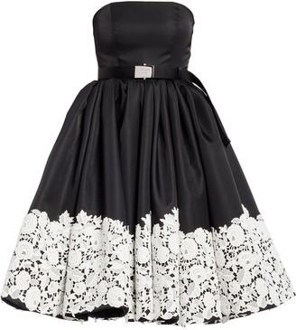 Prada Re-Nylon sleeveless gabardine dress