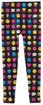 Girls 7-16 Emoji & Food Fleece-Lined Leggings