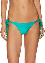 Vix Paula Hermanny Women's Solid Allure Long Tie Bikini Bottom