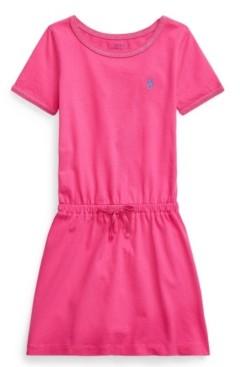 Polo Ralph Lauren Little Girls Cotton Jersey T-shirt Dress
