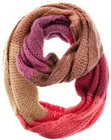Multi-colour stripe snood