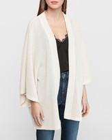 Express Soft Waffle Knit Kimono Cover-Up