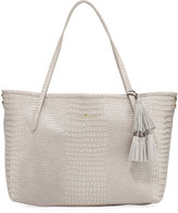 Elaine Turner Designs Philo Crocodile-Embossed Tote Bag