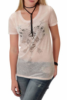 Roper Burnout Heart Tee