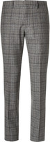 Gucci Slim-Fit Checked Wool Trousers