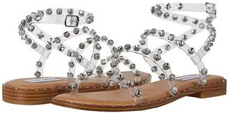 Steve Madden Travel-R Sandal (Clear) Women's Shoes