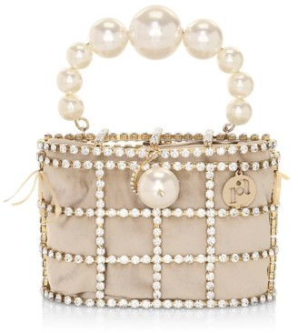 Rosantica Holli Embellished Top Handle Bag