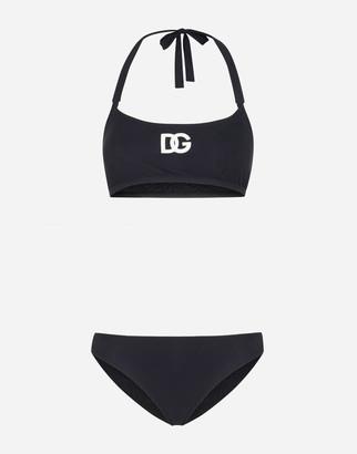 Dolce & Gabbana Bikini With Logo
