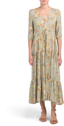 Juniors Annie Maxi Dress